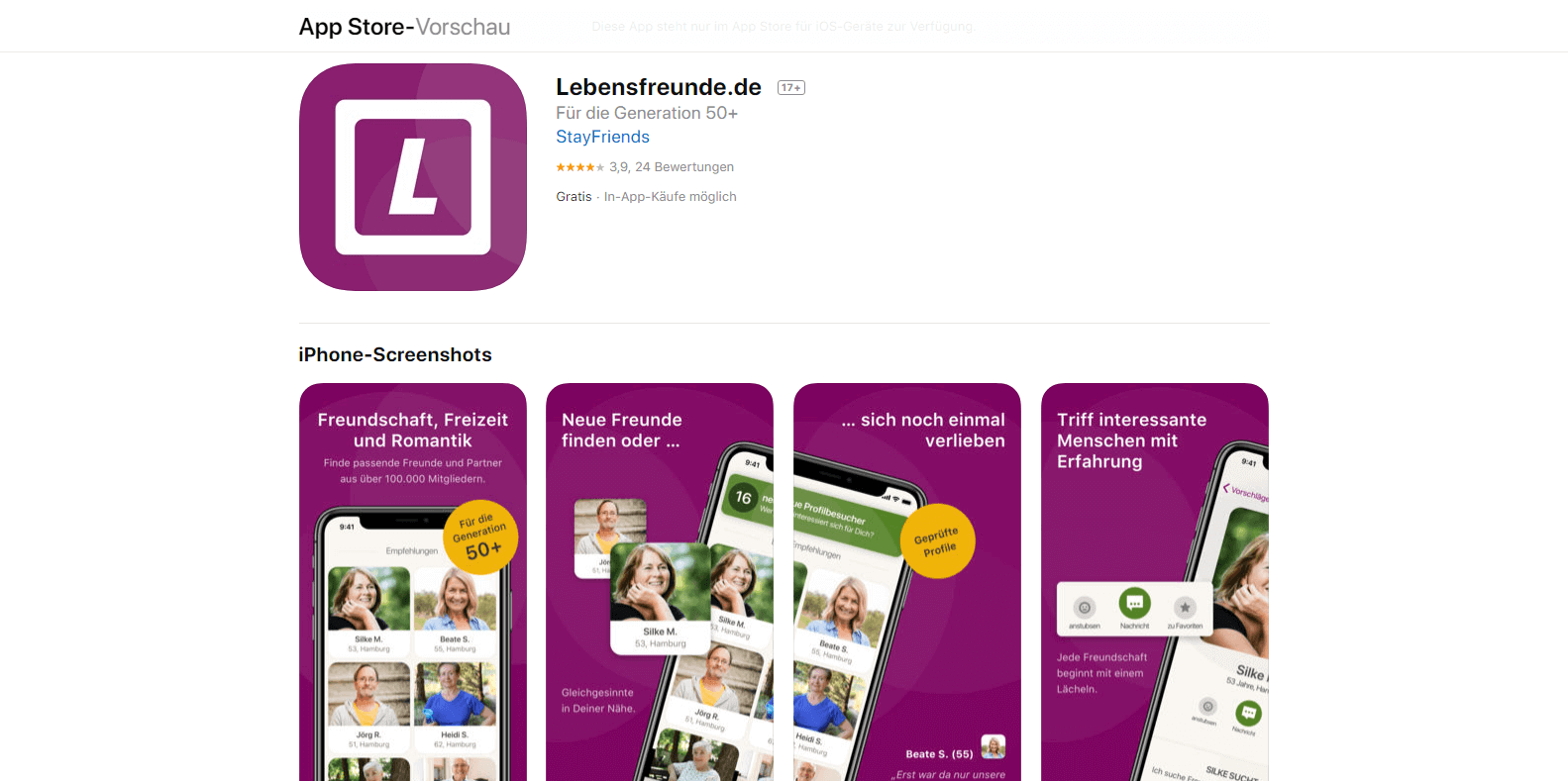 Lebensfreunde App