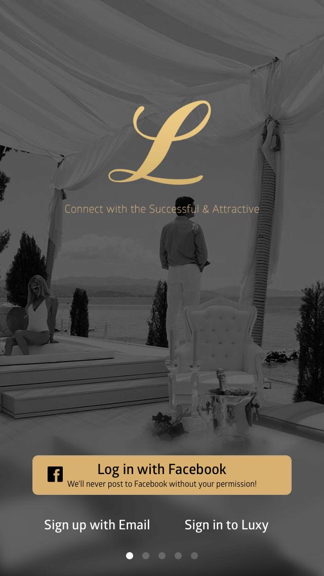 Luxy login