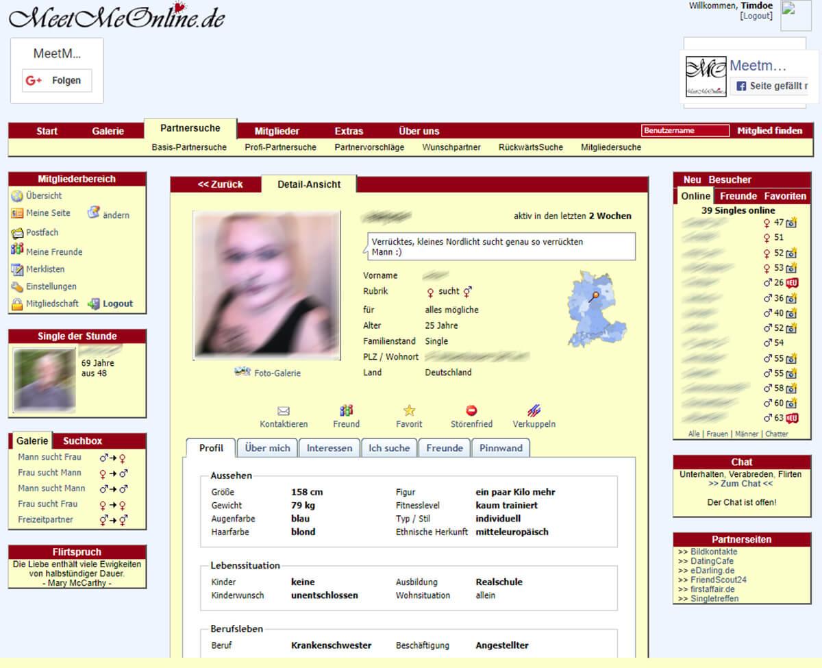 Meetmeonline Profil