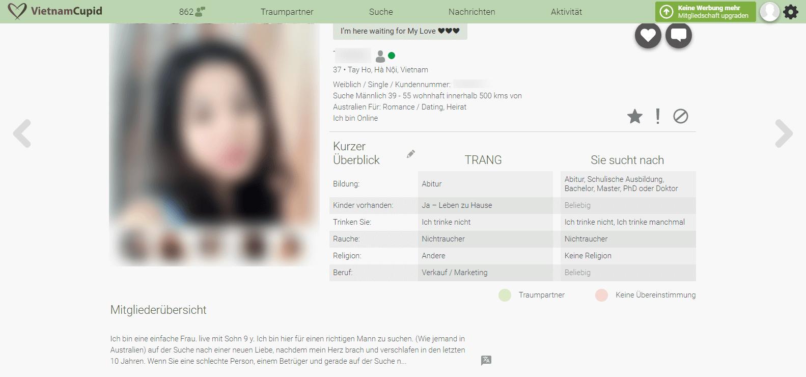 VietnamCupid Profil