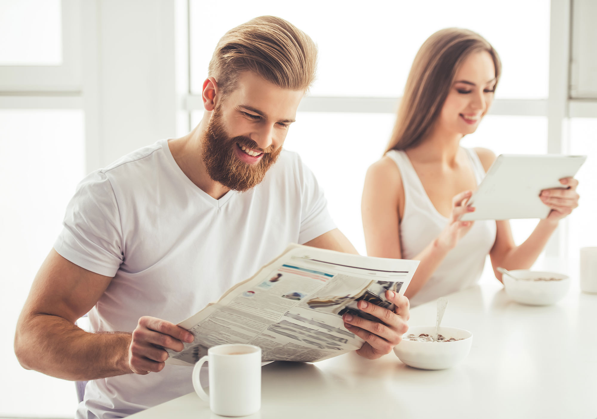 Sie sucht ihn - Kontaktanzeige in der Zeitung