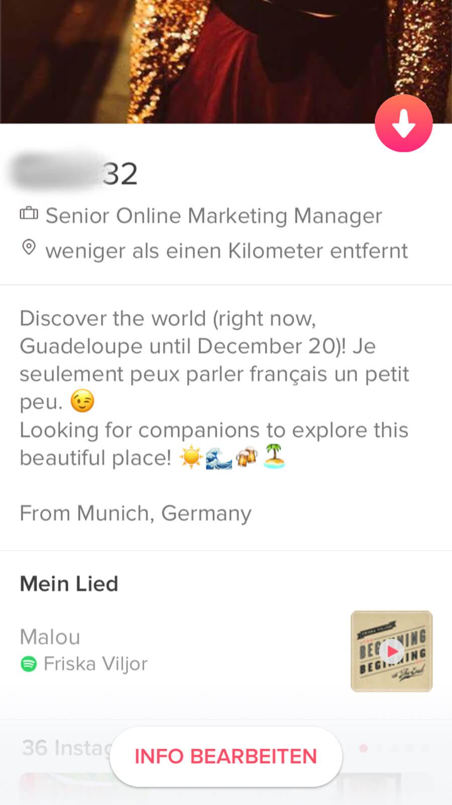 Dating mit einem französischen Typen