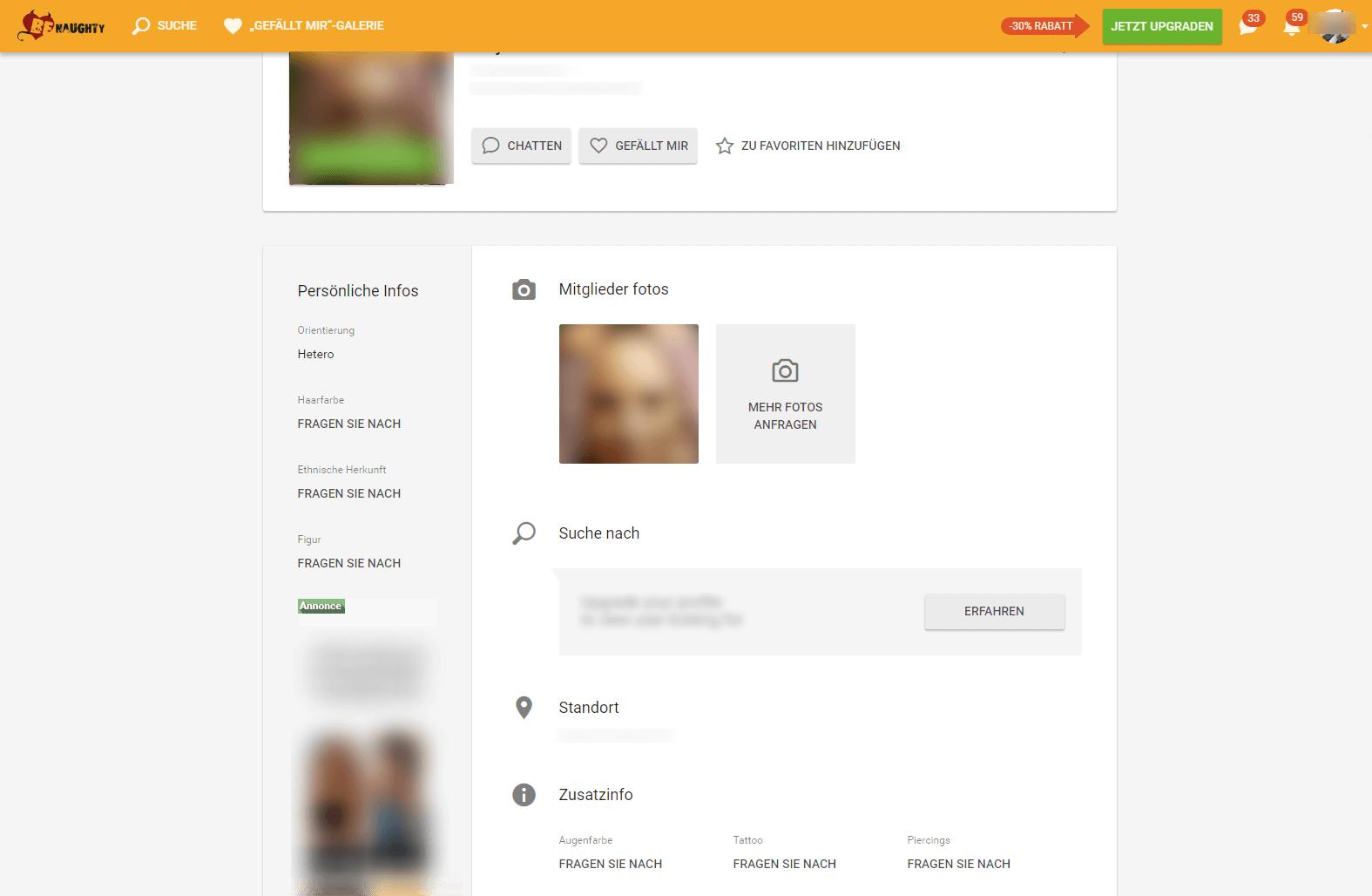 BeNaughty Profil