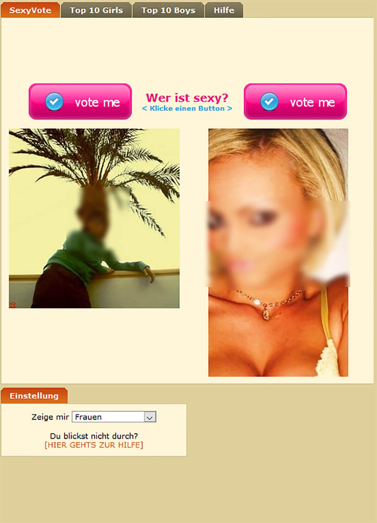 Flirttown Sexyvote