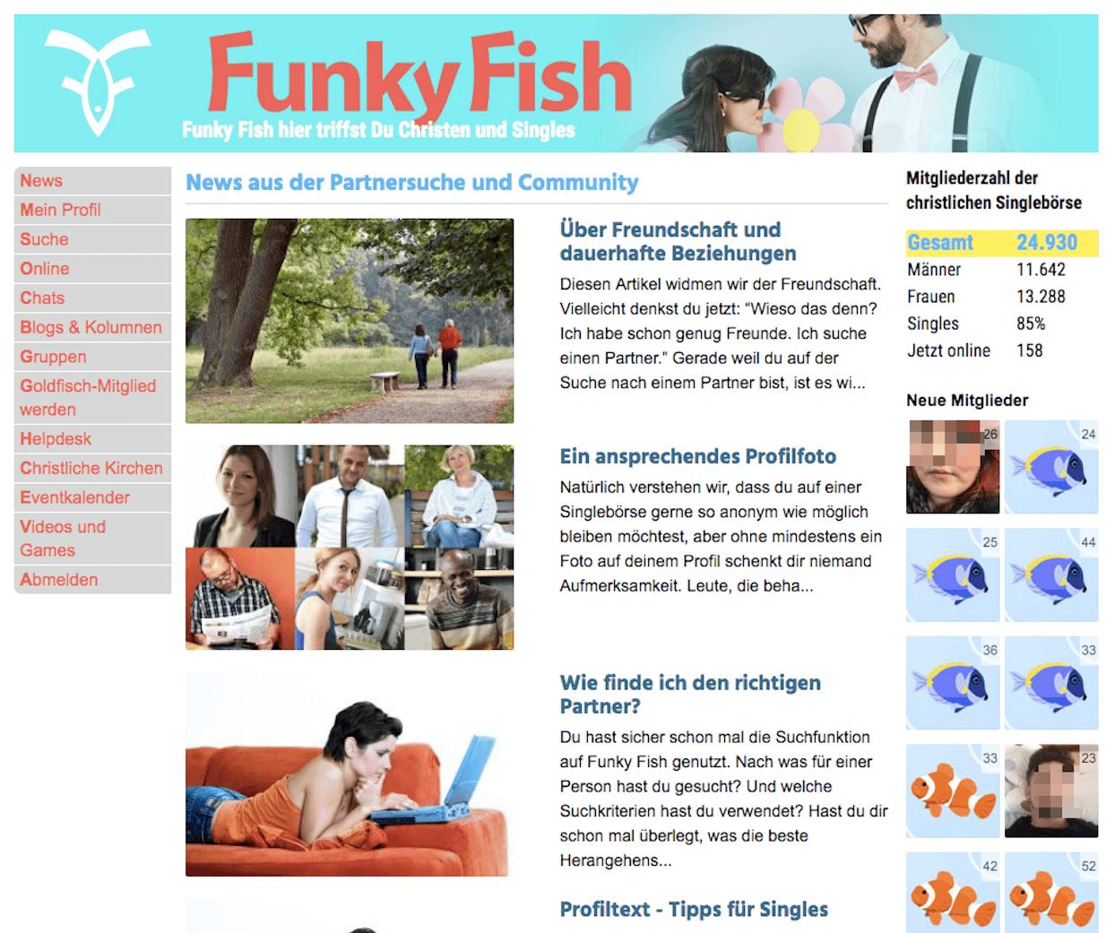 FunkyFish Angemeldet