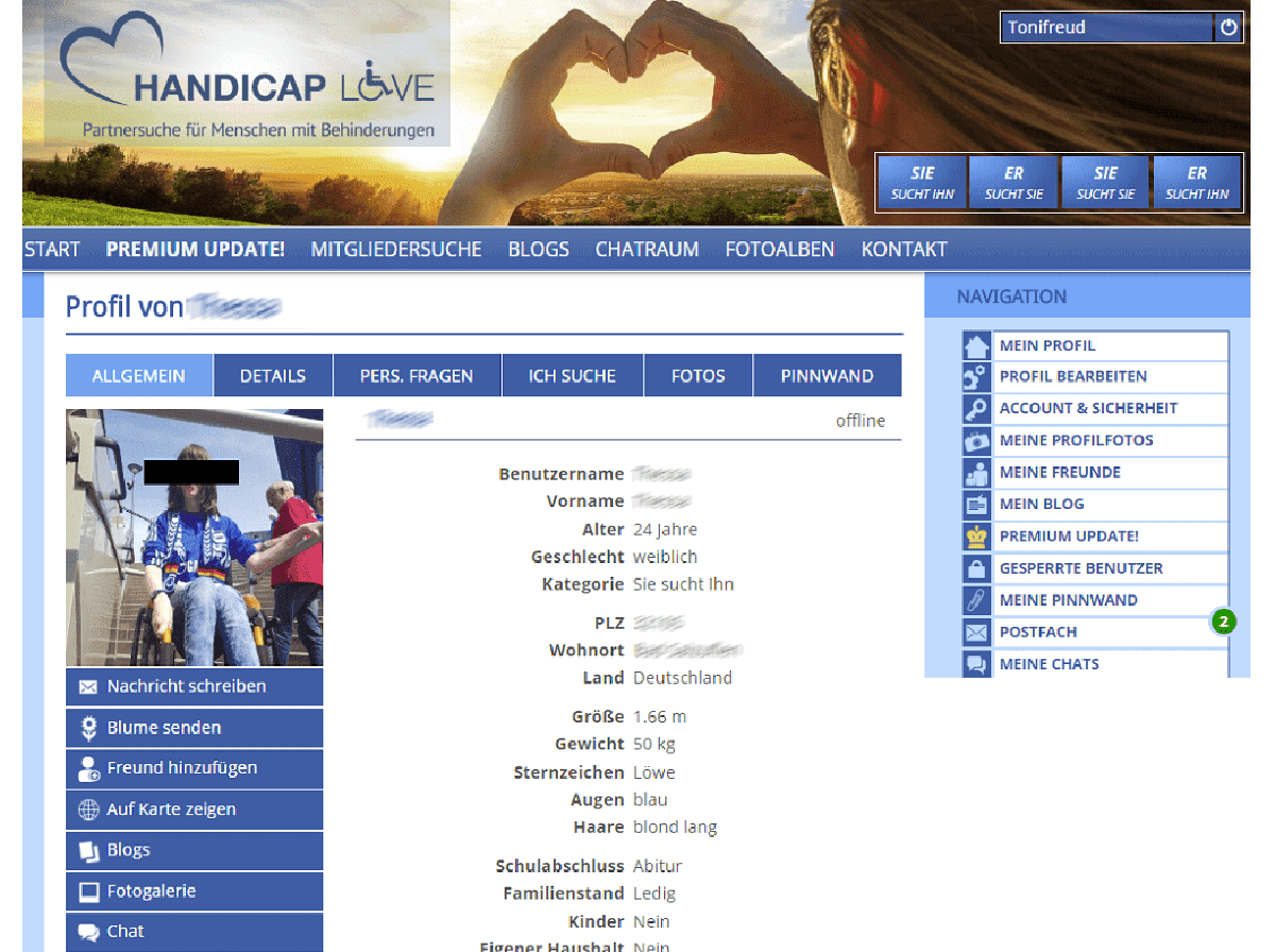 Www Handicap Love