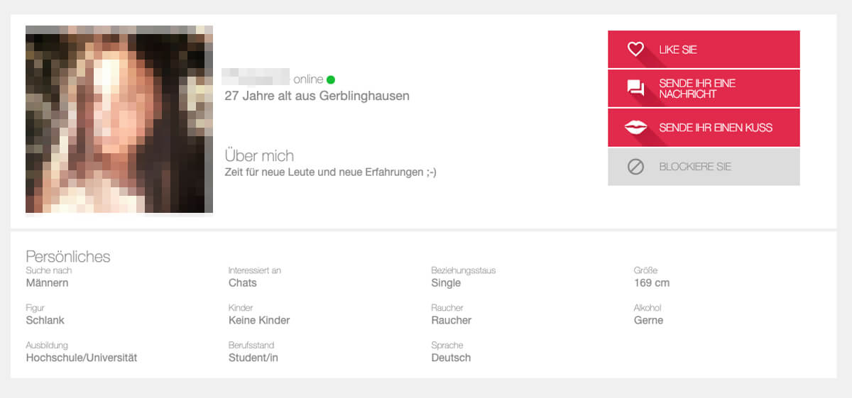 idates profil löschen