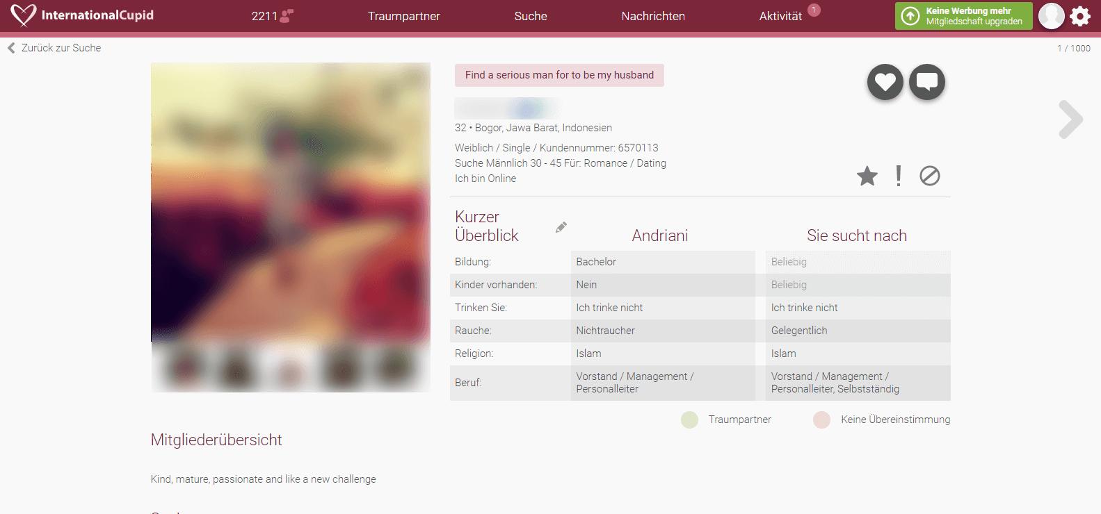 InternationalCupid Profile