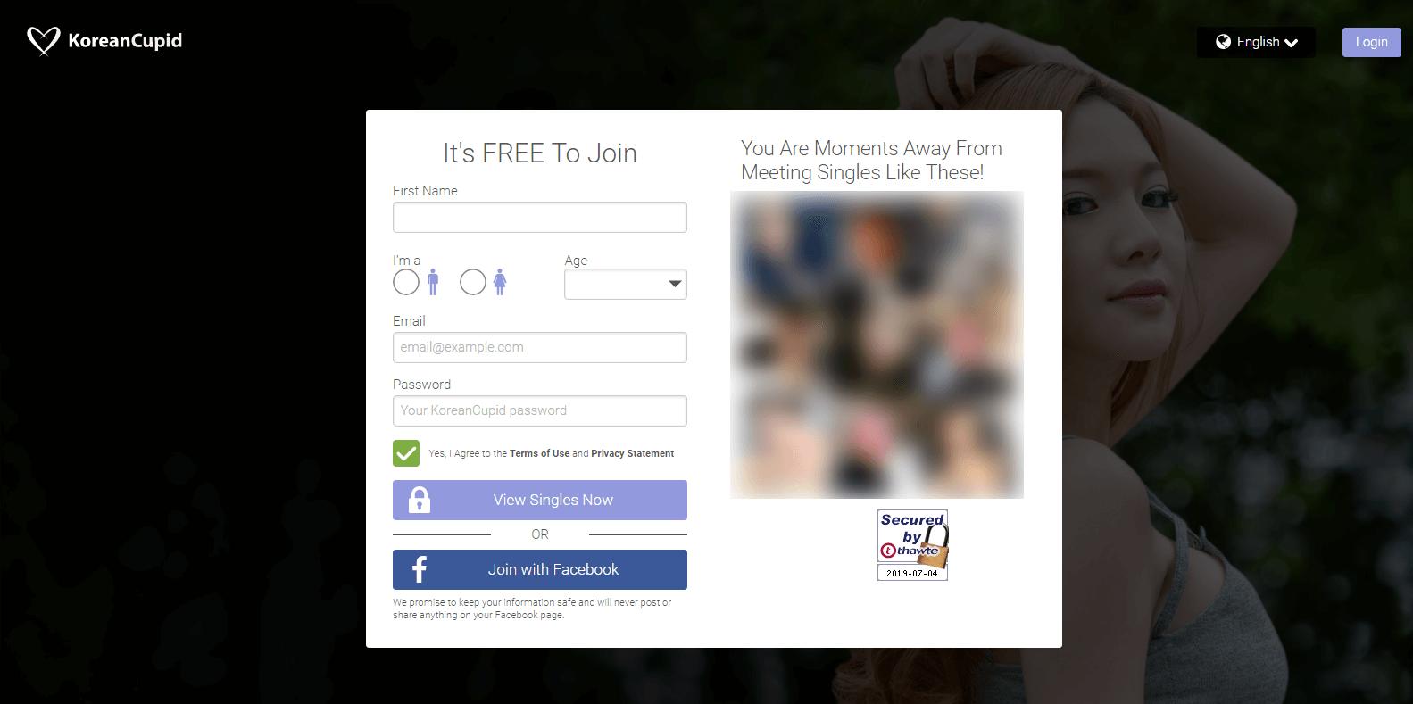KoreanCupid Anmeldung