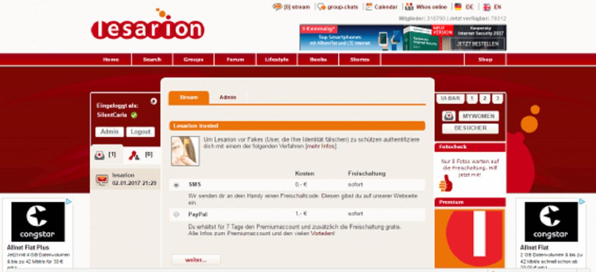 lesarion-verifizieren