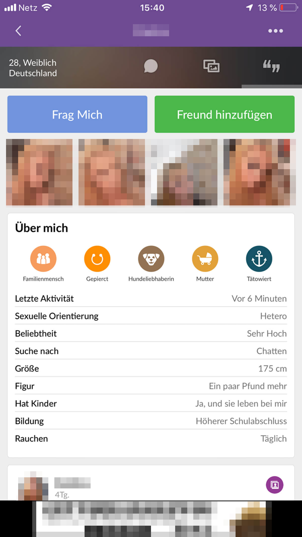MeetMe Profile