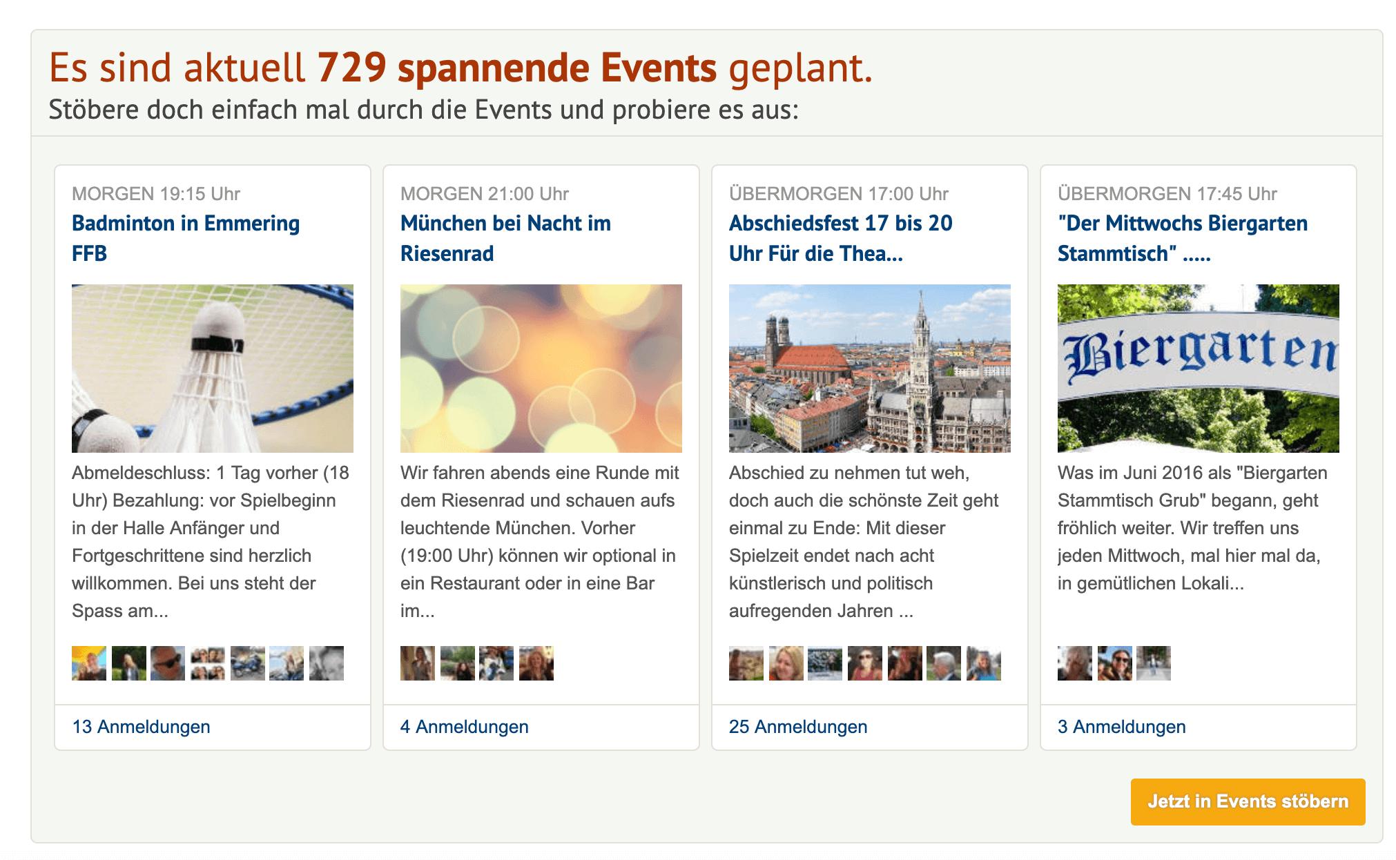 Münchner Singles Events