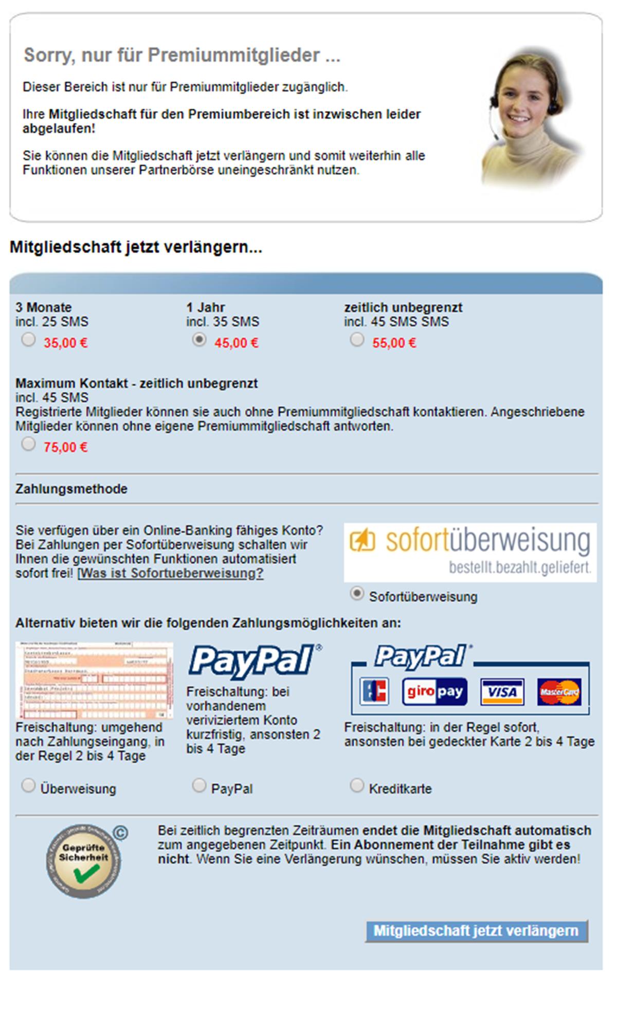 Singlemama Zahlung