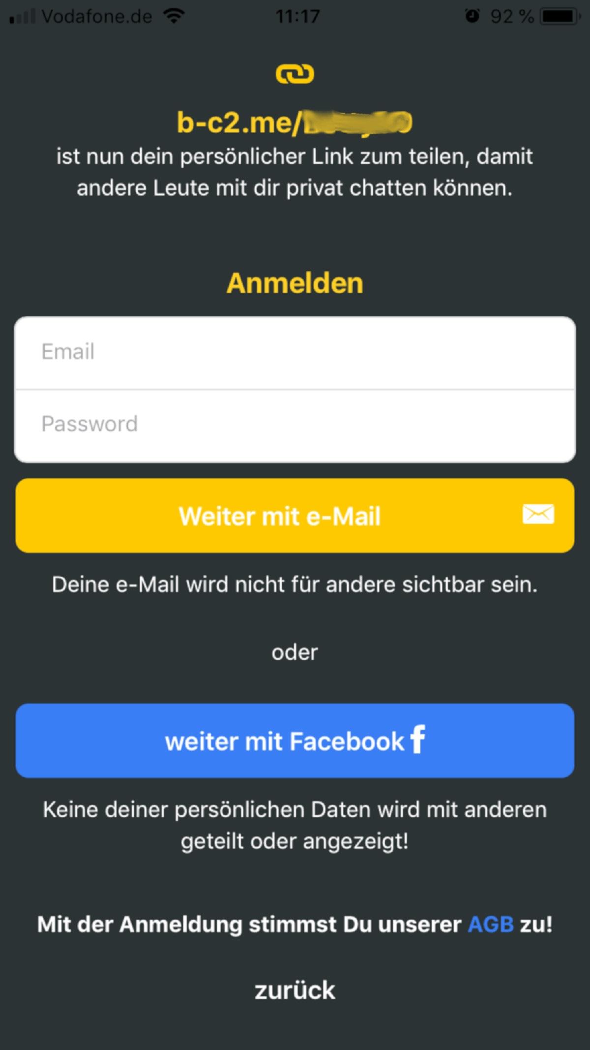 Base chat telefon karussell