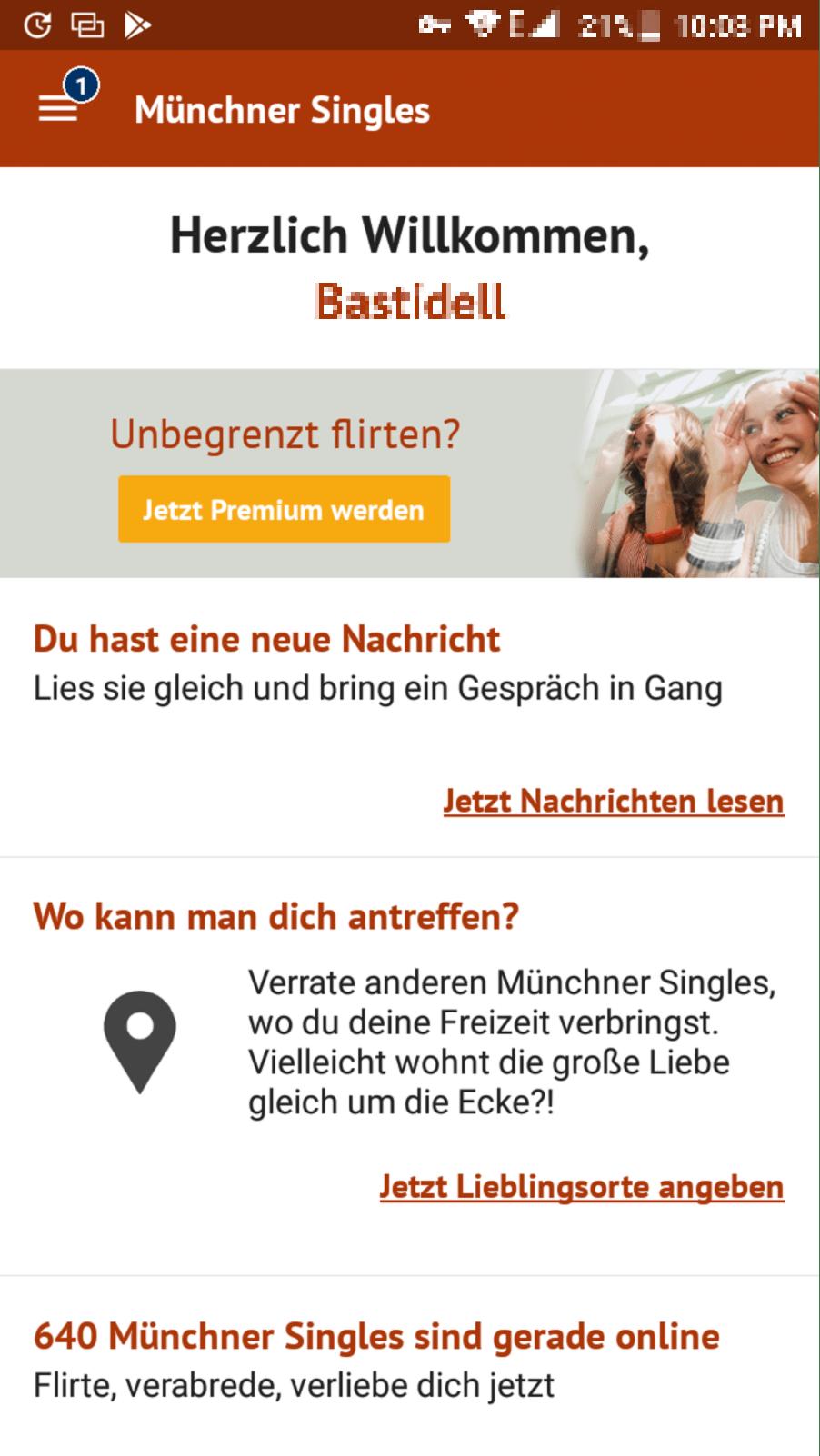 münchner singles kosten für frauen)