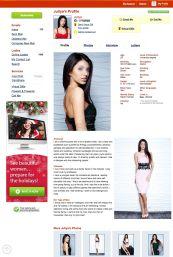 Anastasiadate Profil Frau