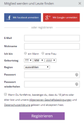 Senzula Registration