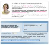 Singlemama Profilwerbung