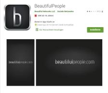 beautifulpeople App