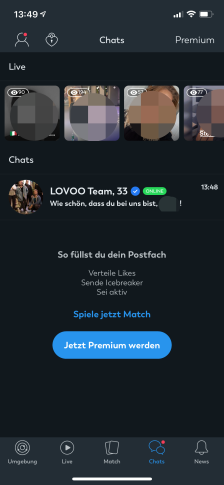 Lovoo Chats