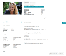Match-Patch Profil Frau