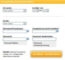 Fischkopf Registrierung