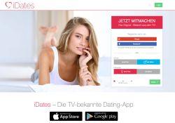 iDates Landing Page