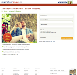MünchnerSingles Anmeldung