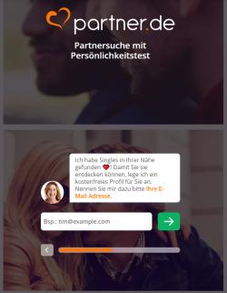 Partner.de Registrierung