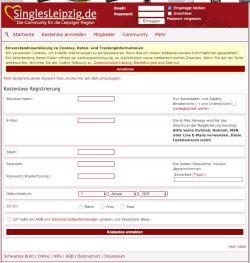 Singles Leipzig Create Account