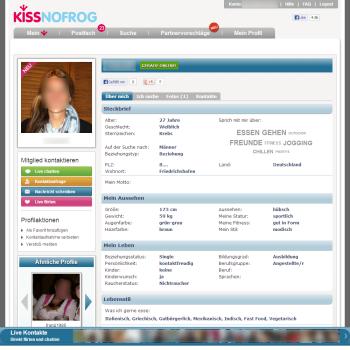 KissNoFrog Profil