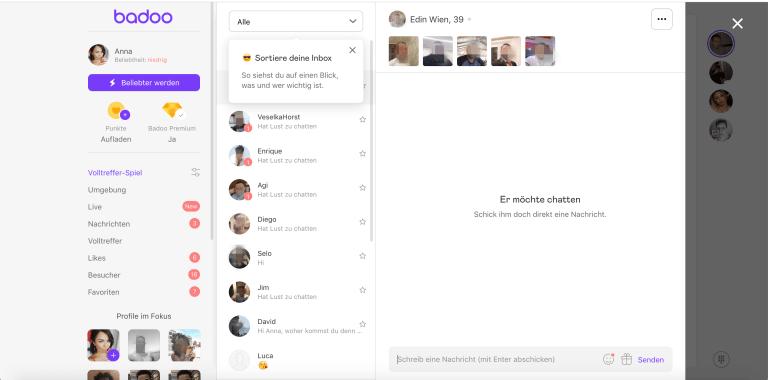 Chat limit umgehen badoo Dating app