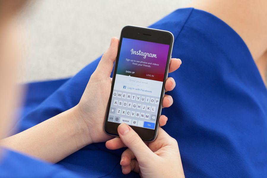 Instagram auf Smartphone