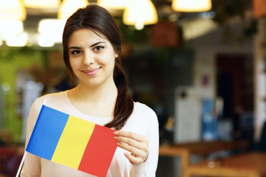 Rumänische Frau