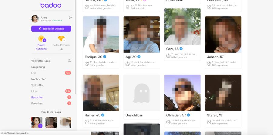 badoo profil gesperrt