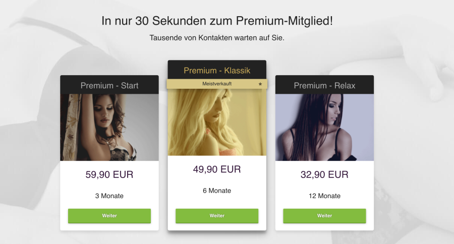 C-Date Preise Euro