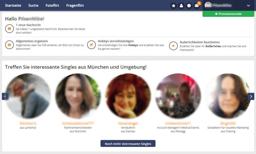 Beziehung organisieren: Date50 profil löschen