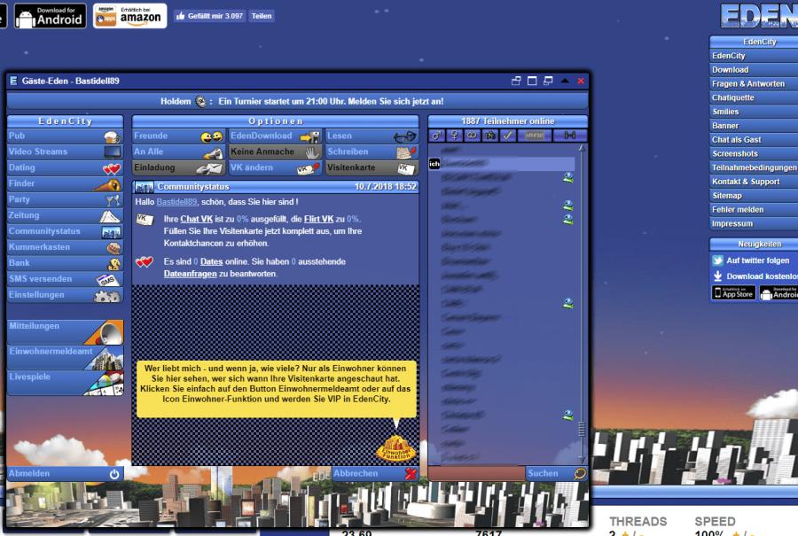 EdenCity Community Status