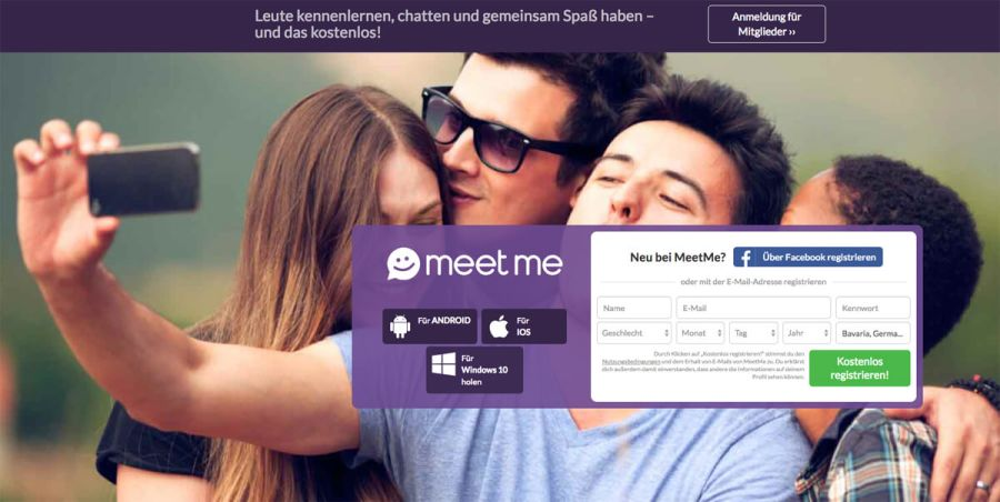MeetMe Registration