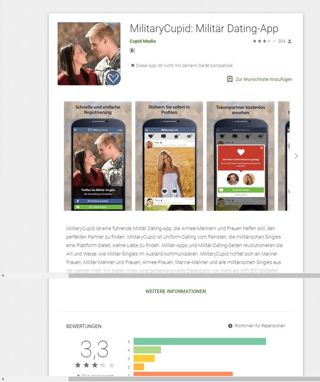 MilitaryCupid App