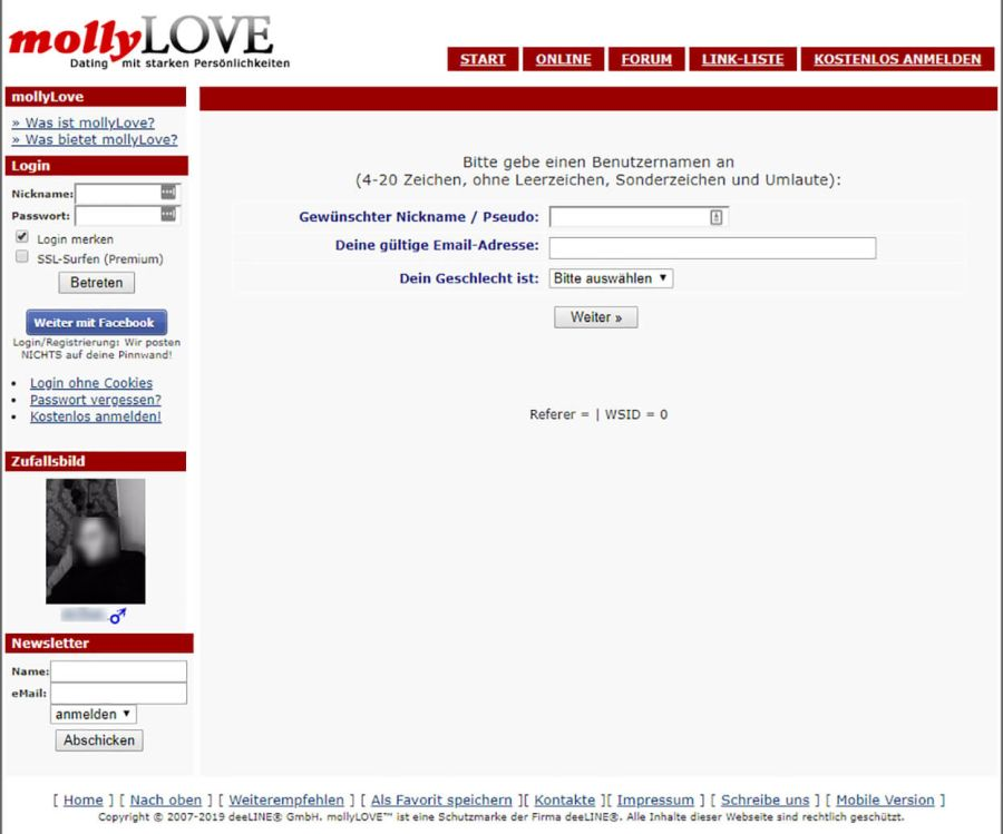MollyLOVE Registration