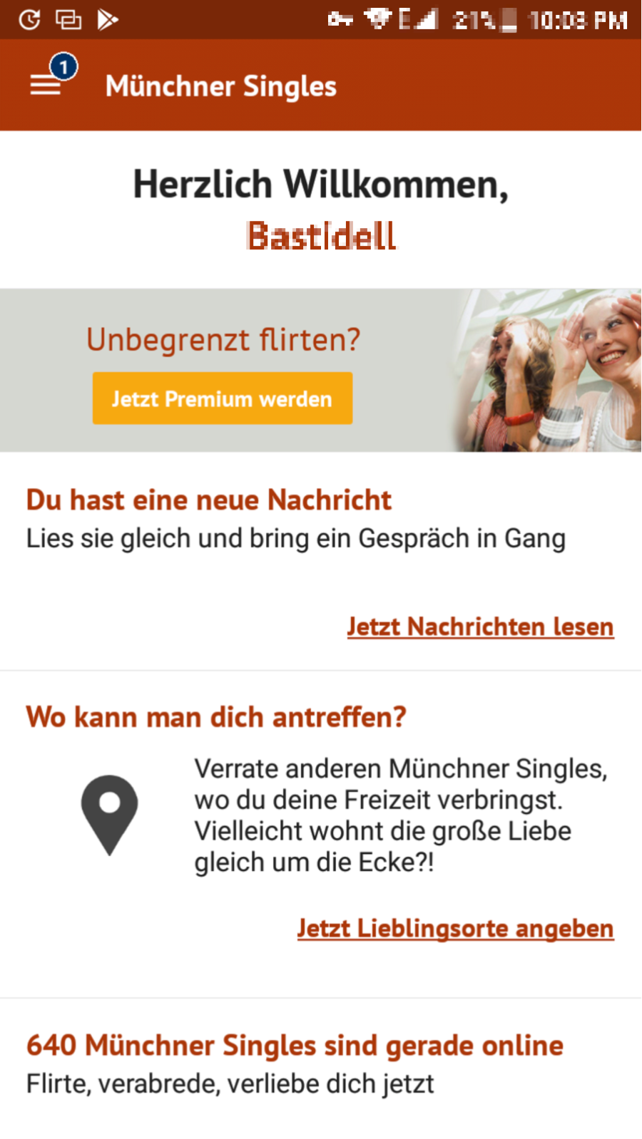 App MünchnerSingles