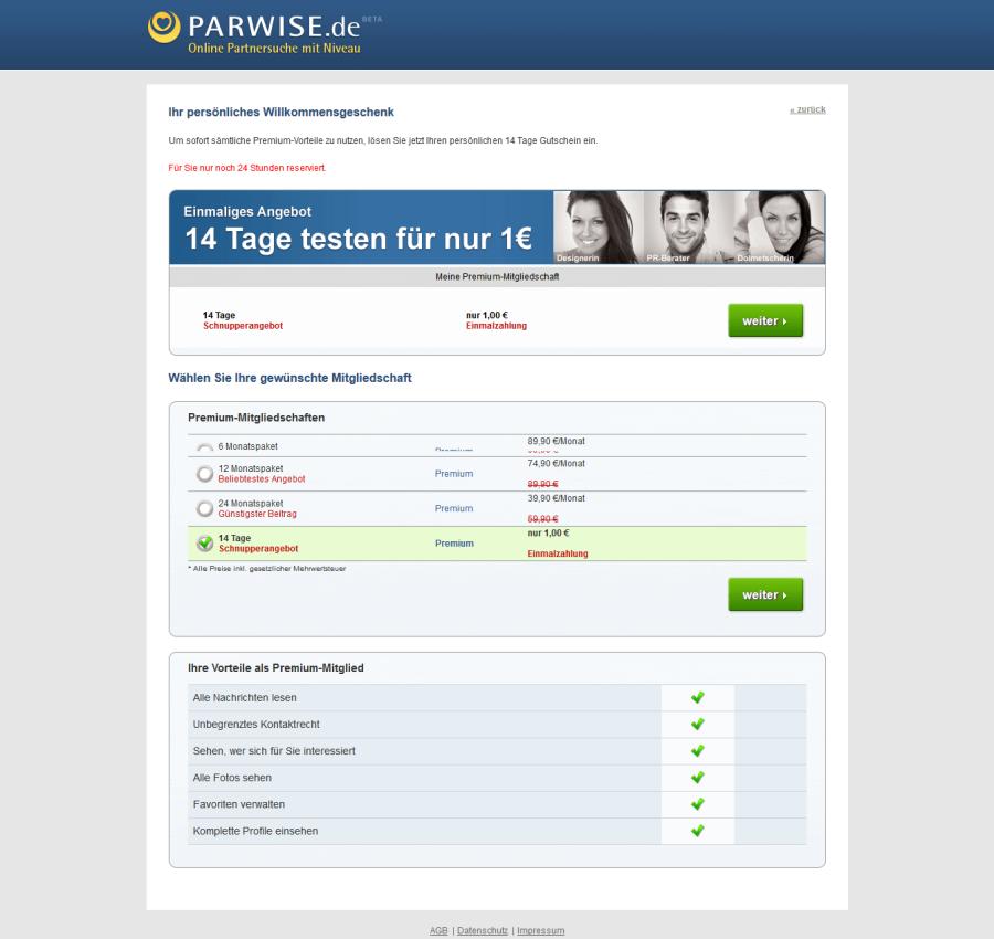 Parwise Kosten