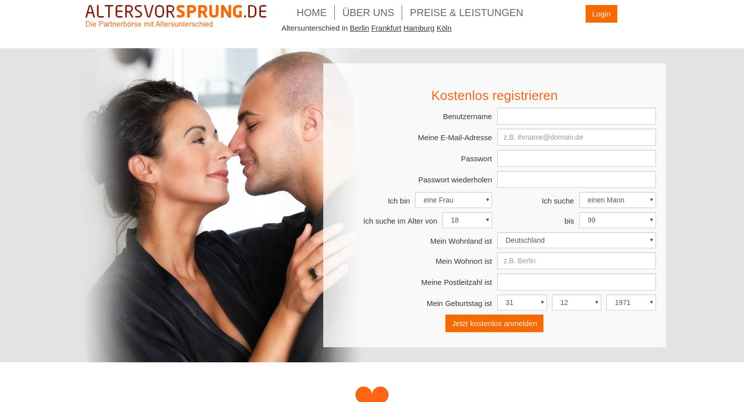 Dating seiten altersunterschied