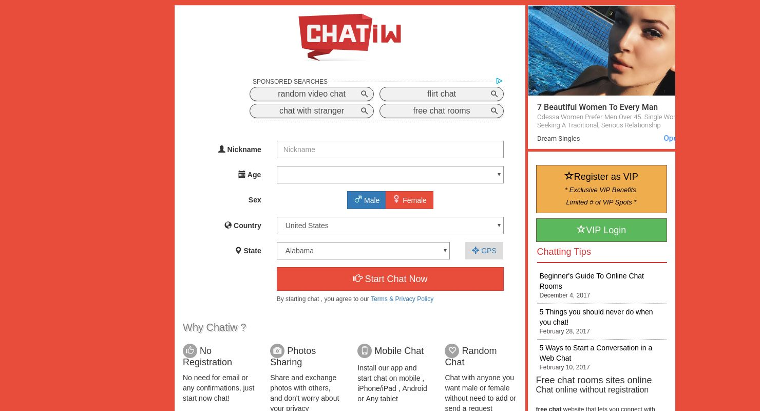 chatiw support